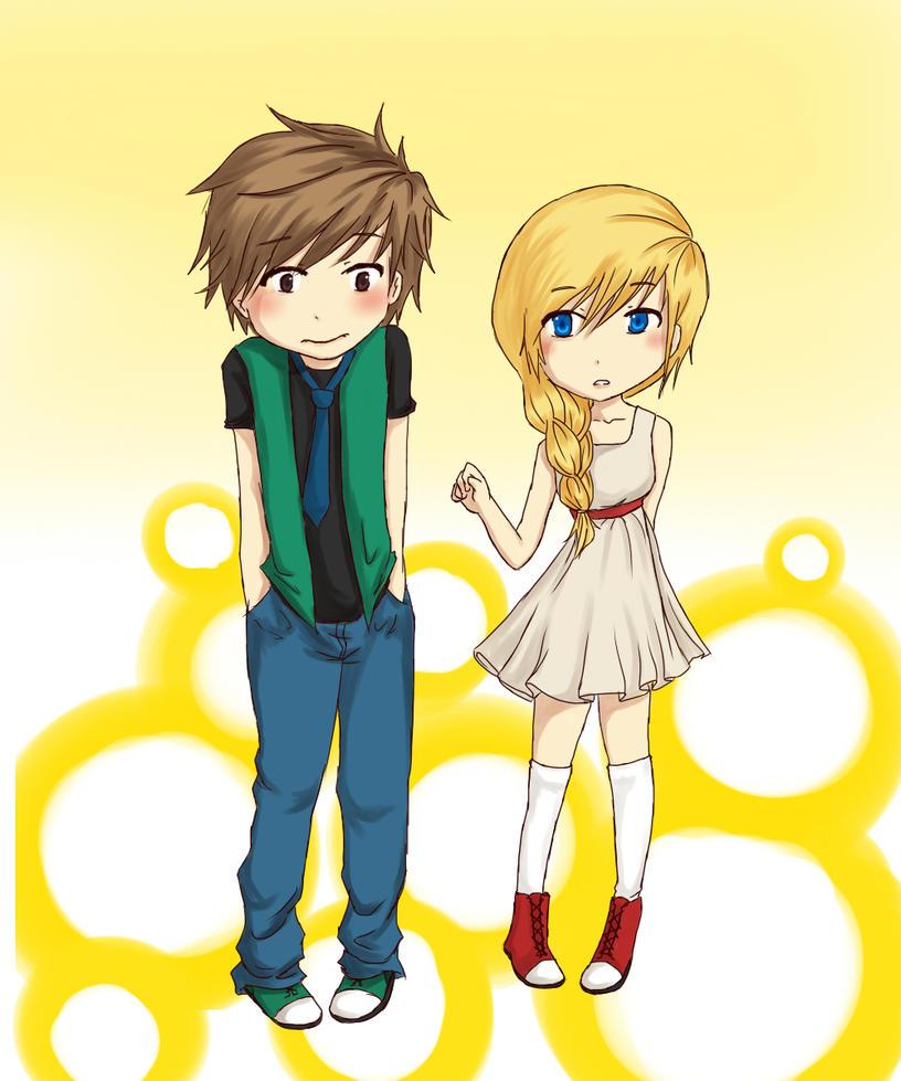 Hotaru and Kasumi by polite-n