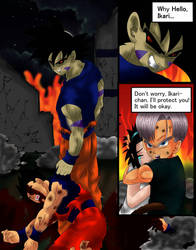 Dragon Ball Z: End of Darkness manga test page col