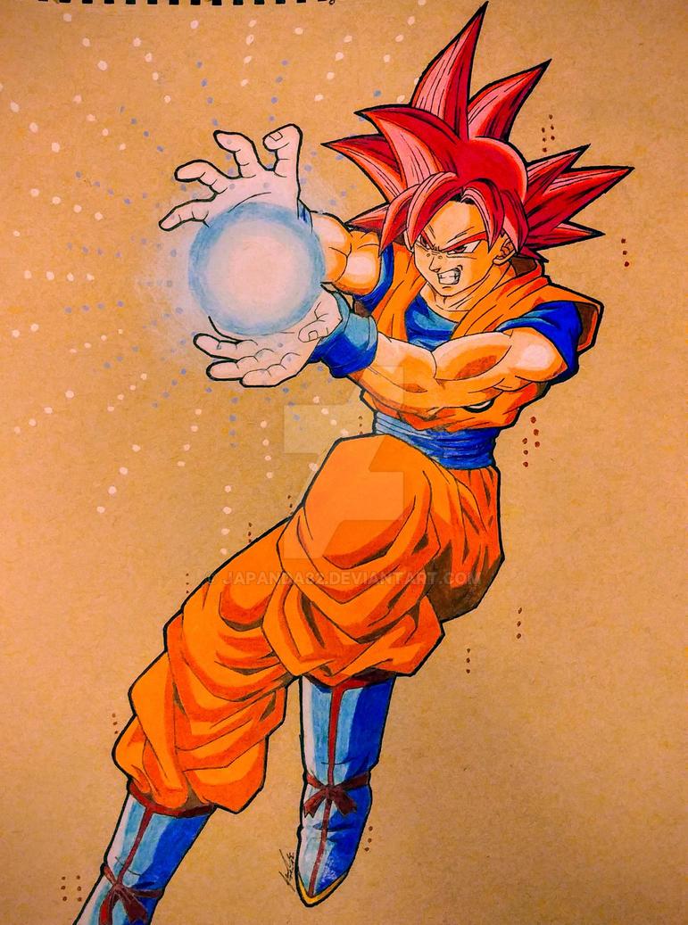 Goku SSG by japanda82