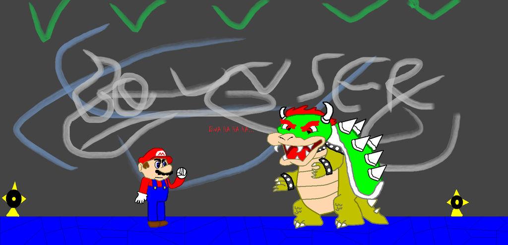 Super Mario 64 Bowser In The Dark World By Metalgeartom On