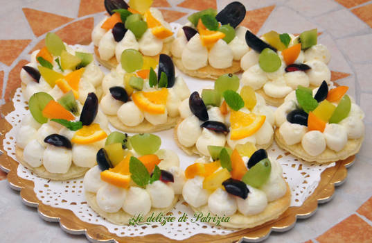 Cream Tart mignon