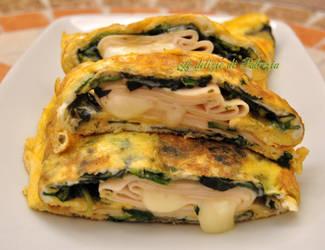 Omelette farcita by LedeliziediPatrizia