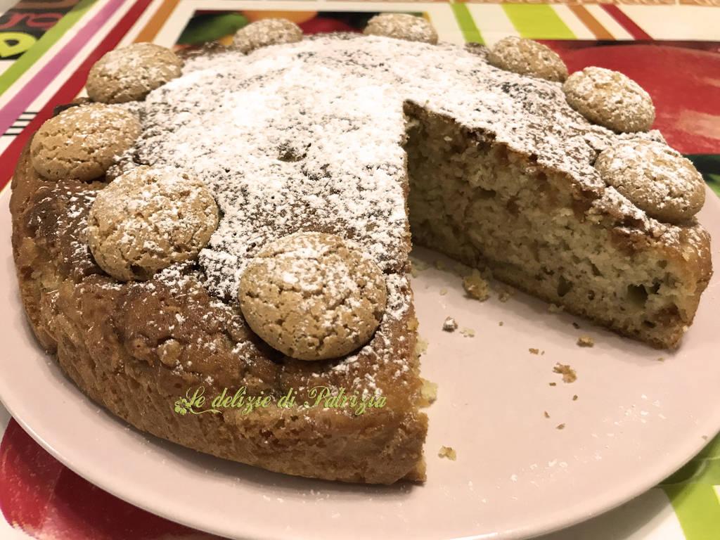 Torta con banane e amaretti by LedeliziediPatrizia