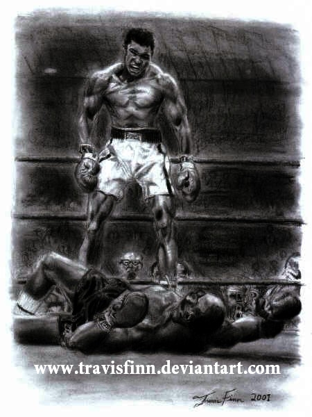 ali vs liston coloring pages - photo#27