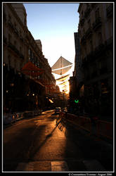 Madrid loosing its Sun.. by CarpeNotrium