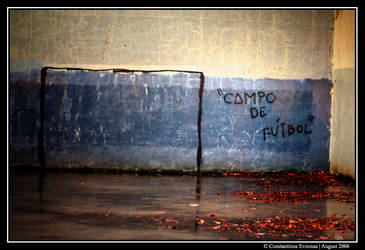 'Campo De Futbol' by CarpeNotrium