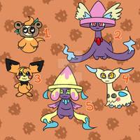 OPEN (5/5) Pokemon Fusion adopts!