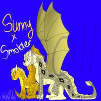 Sunny X Smoulder by ShadowSoarHawkflight