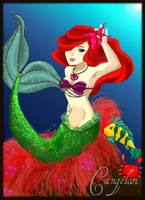 Little Mermaid by kagome-twin15