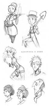 - Various Sketches I -