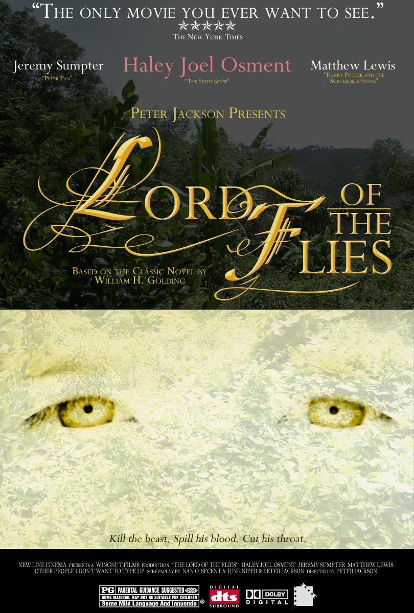 a character analysis in the novel lord of the flies
