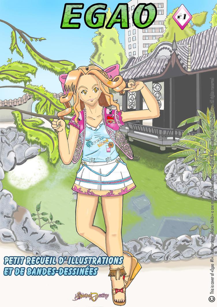 La couverture du fanzine EGAO #1 by SpotlessDestiny