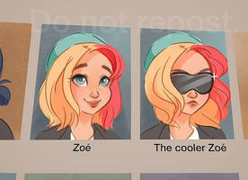 The cooler Zoe yearbook