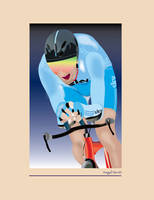 SKY time trial illustration by mambographic