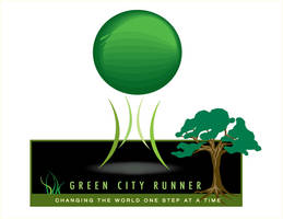 New logo for green city runner by mambographic