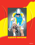ASTANA CYCLING ILLUSTRATION