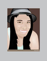 Portrait of Melissa Anne by mambographic