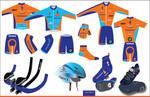 Rabobank cycling clothing desi