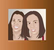 Illustration Wanda and Tiziana by mambographic