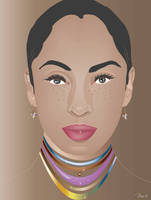 SADE ILLUSTRATION by mambographic