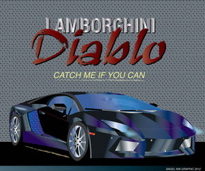 LAMBORGHINI ILLUSTRATION by mambographic