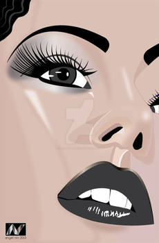 Face-closed-up-illustration