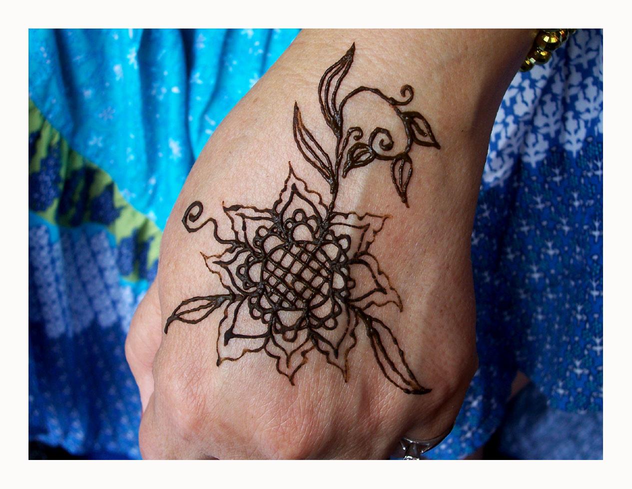 Sunflower Henna Tattoo: Sunflower Henna By Bataleigh On DeviantArt