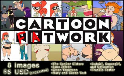 Cartoon Fatwork Pack -also Southern Hospitality II
