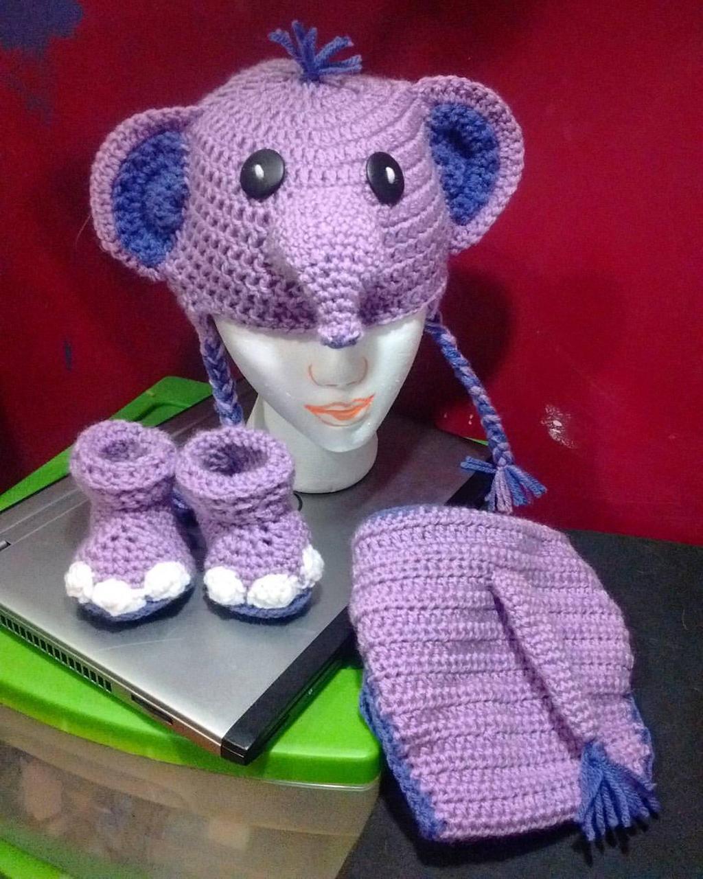 Aruba Sea Blue Handmade Elephant Hat and Diaper Cover Crochet | Etsy | 1280x1024