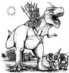 Tyrannosaurus Rex, Enslaved by jediboyy
