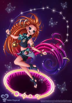 Zoe the Aspect of Twilight +Speedpaint