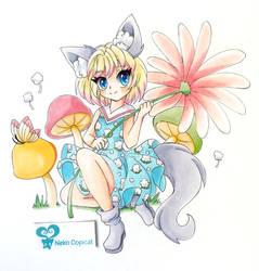 Wolf Girl (Art Trade)