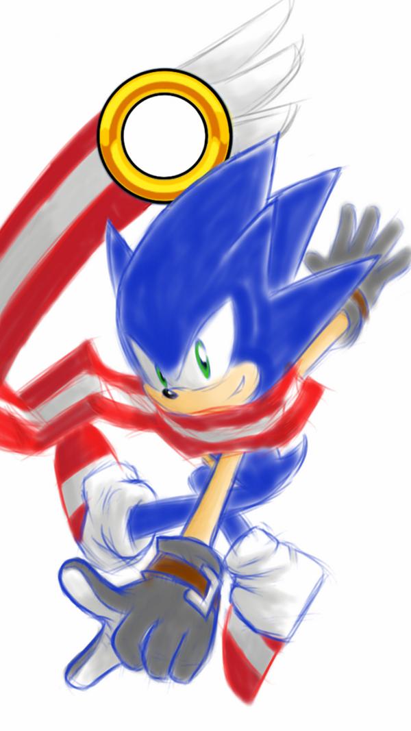 Sonic Skyline Fan-art by Zack113