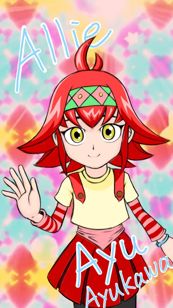 Allie/Ayu from Yu-Gi-Oh! ARC-V by Zack113