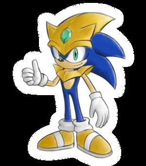 Omnic Sonic (Planet Hexa soilder suit)