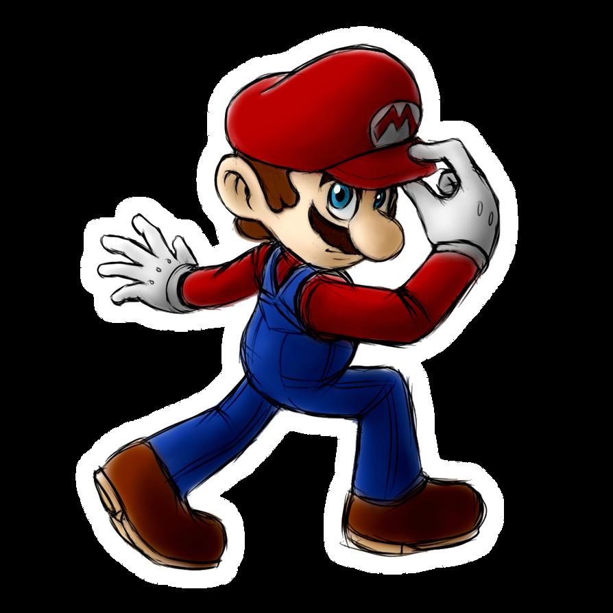 Smasher Mario Odyssey by Zack113