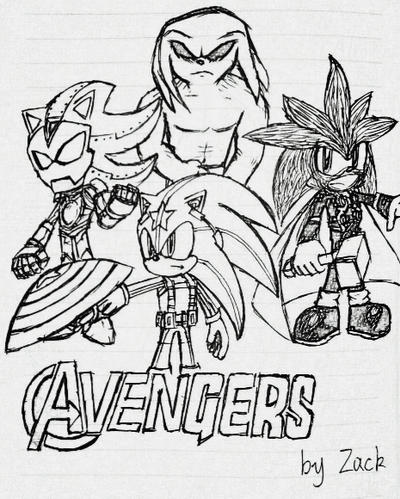 OPA - Sonic the Avengers by Zack113