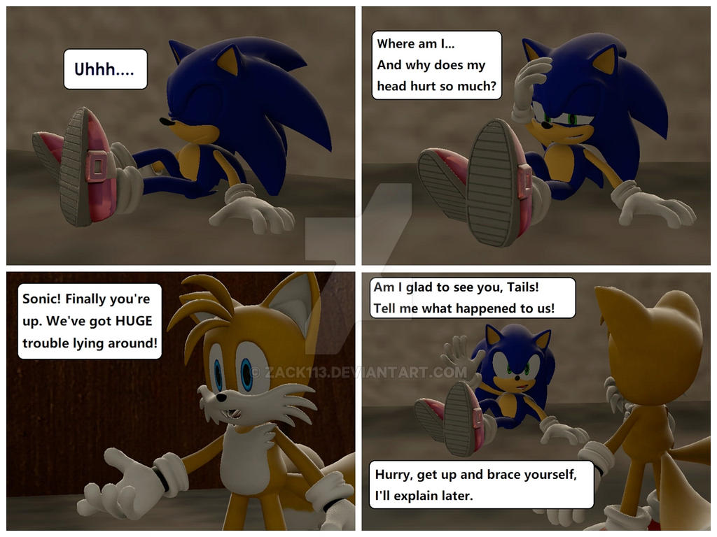 Sonic Trekker #1 by Zack113