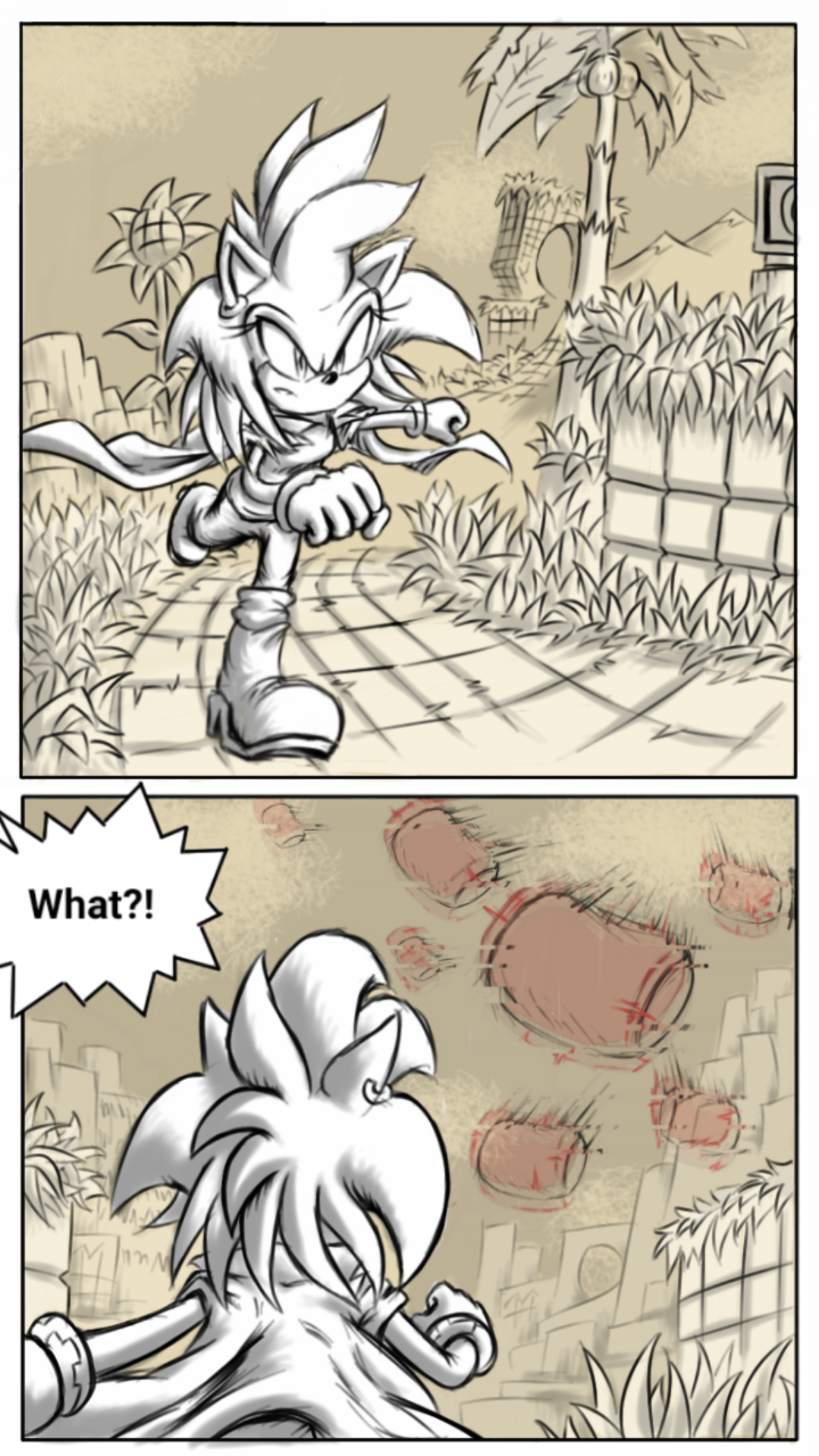 Sonic: Forces of the Maniacs #17 by Zack113