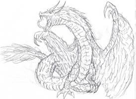 Titanus Quetzalcoatl by ToonHolt