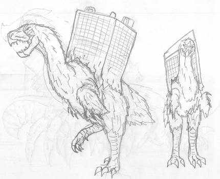 Monsterverse: Baba Yaga Birds