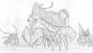 Monsterverse: Davy Jones Crabs/Titanus Dutchman