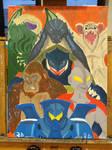 Kaiju (Oil Paint)