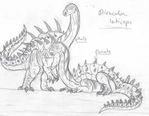 Jurassic World: Diracodon laticeps