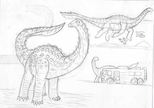 JW Fantasy Dinos: Mokele-Mbembe