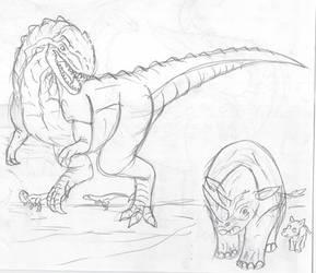 JW Fantasy Dinos: Kasai Rex (K-Rex)