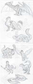 Hexapods Alternate Evolution