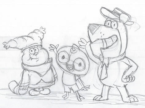 Chowder, Harvey, and Yogi