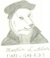 Martin Luther by JimWolfdog