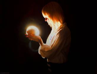 Calcifer, you're glowing by LALASOSU2